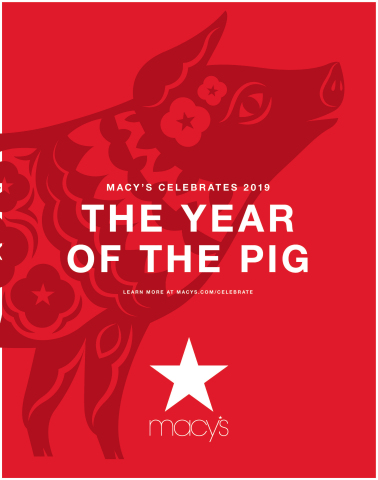 Macy's celebrates Lunar New Year in stores across the country this February. (Photo: Business Wire)