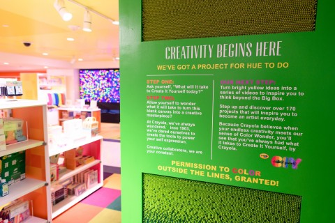 Macy's launches STORY, the narrative-driven retail experience in 36 stores nationwide. MAC Cosmetics, Crayola®, Levi's® Kids & more than 70 small businesses partner with STORY at Macy's on Color STORY, where customers will find hundreds of curated products and enjoy engaging community events. (Photo: Business Wire)