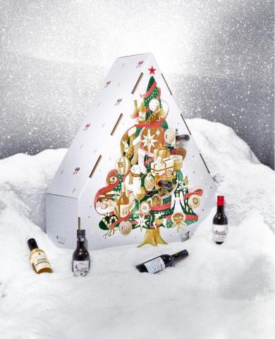 Find the best gift in fashion, beauty, home and toys this holiday season at Macy's; Limited-Edition Wine Advent Calendar $139.99 (Photo: Business Wire)