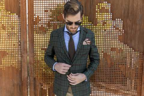 Check out what's new at Macy's this holiday season; Tailor Square Made-To-Measure, a custom-made clothing experience for men, available in 15 stores nationwide; starting at $455 (Photo: Business Wire)