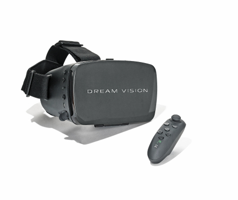 Macy's makes holiday shopping even more magical with amazing Black Friday deals on home, fashion, beauty, and tech items; $17.99 Dream Vision Virtual Reality. (Photo: Business Wire)