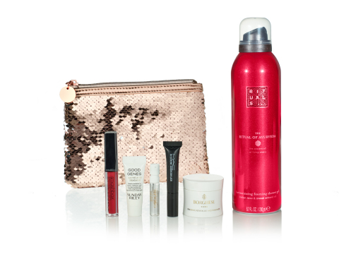 Macy's offers the perfect holiday gift with incredible Cyber Week deals on fashion, home, beauty, and tech items; $5 Beauty Box with purchase of $50 or more, while supplies last. (Photo: Business Wire)