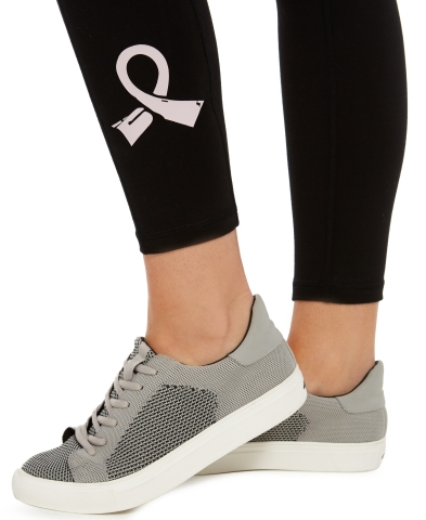 Shop The Pink Shop in-store and online at Macy's this October to support breast cancer Thrivers. Ideology Pink Ribbon Legging, $49.50 (Photo: Business Wire)
