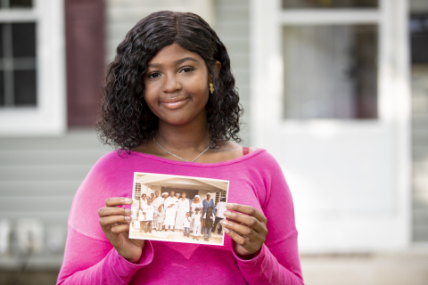 """Make-A-Wish kid Julia, 13-years-old, wishes """"to go to Ghana to visit extended family"""" (Photo: Business Wire)"""