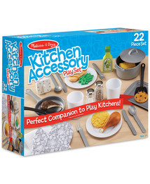 Macy's has you covered with unique and thoughtful last-minute gifts in every price range this holiday season; Melissa and Doug Kitchen Accessory Playset, $29.99 (Photo: Business Wire)