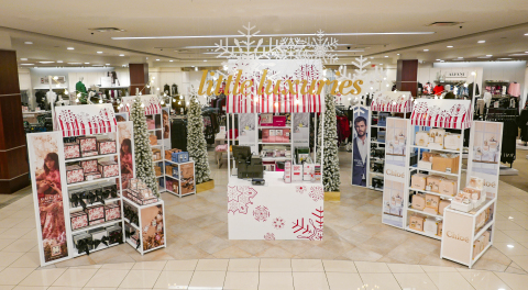 Check out what's new at Macy's this holiday season; An in-store winter market with a wide selection of fragrance gift sets; available in 79 stores nationwide. (Photo: Business Wire)