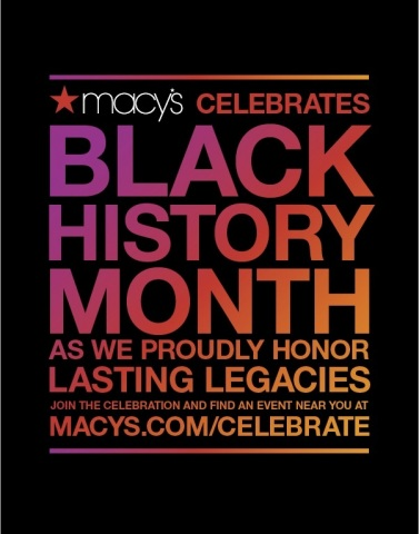This February, Macy's proudly celebrates Black History Month with cultural pioneers at seven stores nationwide. (Graphic: Business Wire)