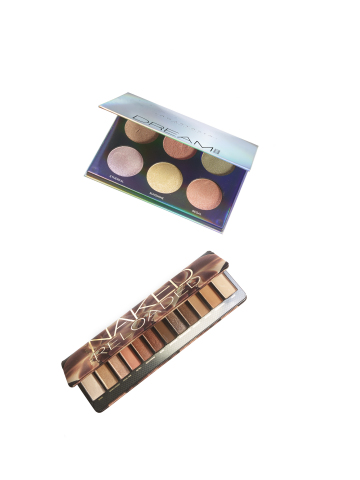 Macy's spring 2019 remarkable fashion, beauty and home assortment is inspired by coastal culture and individuality. Anastasia Beverly Hills Dream Glow Kit, $45; Urban Decay Naked Reloaded eyeshadow palette, $44. (Photo: Business Wire)