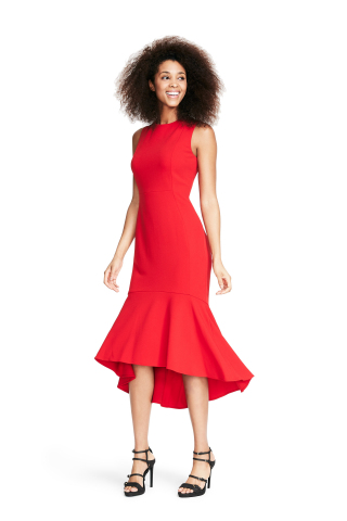 Macy's honors American Heart Month throughout February, offering a special Calvin Klein Dress ($119) in select stores and online to benefit American Heart Association's Go Red for Women (Photo: Business Wire)