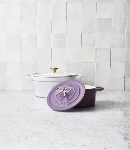 Make this Mother's Day extra special with thoughtful gifts across fashion, home and beauty from Macy's. Martha Stewart Collection Enameled Cast Iron, $99 - $259.99. (Photo: Business Wire)