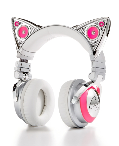 Macy's has incredible items at all price points and convenient services to make sure you get all of your last minute holiday gifts on time with no hassle. Ariana Grande Bluetooth Cat Headphones from Brookstone, $149.99, available in select Macy's locations and macys.com. (Photo: Business Wire)