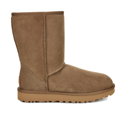 Macy's has incredible items at all price points and convenient services to make sure you get all of your last minute holiday gifts on time with no hassle. Women's Classic Shearling Lined Short Boots from UGG®, $160, available in select Macy's locations and macys.com. (Photo: Business Wire)