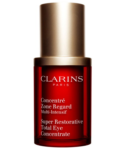 Help mom's inner beauty shine through with best-in-class beauty products and spa services. Clarins Super Restorative Total Eye Concentrate, $85, available in select Macy's locations and on macys.com. (Photo: Business Wire)