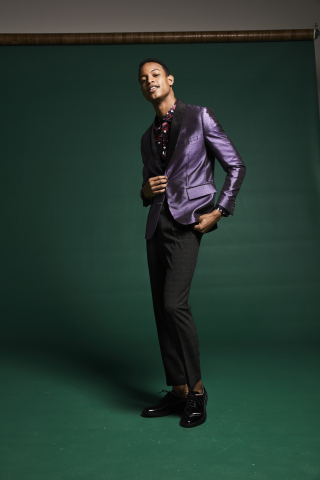 Macy's gives the gift of great style with a statement dinner jacket by I.N.C., $129.50 (Photo: Business Wire)
