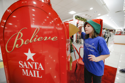 Macy's and Make-A-Wish® will celebrate Wishes Across America as part of Macy's 11th annual Believe campaign. (Brandon Wade/AP Images for Macy's)