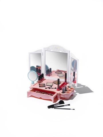 Discover gifts that you'll love to give in every price point at Macy's; FAO Schwarz Girls' Vanity Makeup 30-Pc. Set, $39.99 (Photo: Business Wire)