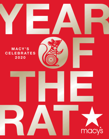 Macy's celebrates Lunar New Year in select stores across the country. (Graphic: Business Wire)