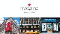 Macy's, Inc. Investor Presentation