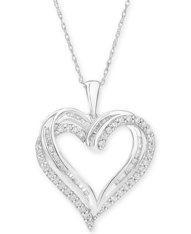 Macy's offers last-minute shoppers inspiration with thoughtful gifts for every personality and price point; Diamond Heart Pendant 18
