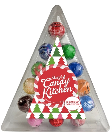 Macy's, the ultimate, one-stop gift destination, makes holiday shopping even easier with an expert selection of thoughtful gifts; Candy Kitchen $14.95 (Photo: Business Wire)