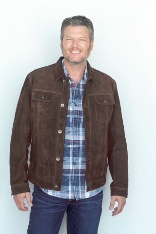 Macy's has everything you need this holiday season; BS by Blake Shelton; Long-sleeve Woven $79, Suede Trucker Jacket $299 (Photo: Business Wire)
