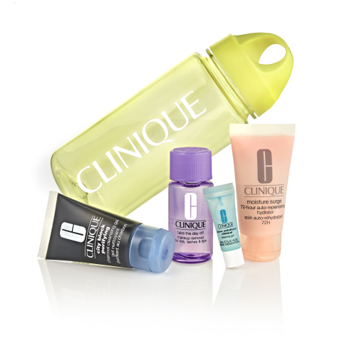 Start the year fresh-faced by staying hydrated and bright with Clinique's Pep-Start line, which includes holy grail products like exfoliating cleansers, hydrating moisturizers, daily SPF and eye creams, available at select Macy's stores and on macys.com. (Photo: Business Wire)