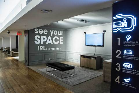 Macy's VR Furniture Experience (Photo: Business Wire)