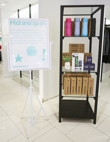 HidrateSpark 3, a smart water bottle, is one of the featured products in the SoGifted shops at Macy's. (Photo: Business Wire)