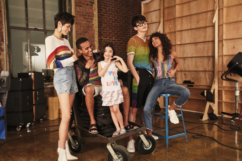 Macy's celebrates WorldPride and Stonewall 50 with its 10th annual national Pride + Joy campaign featuring special Pride-themed products and a partnership with The Trevor Project. INC and Epic Threads Pride apparel (Photo: Business Wire)
