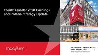 Q4 2020 Earnings Presentation - Revised 2/23/21