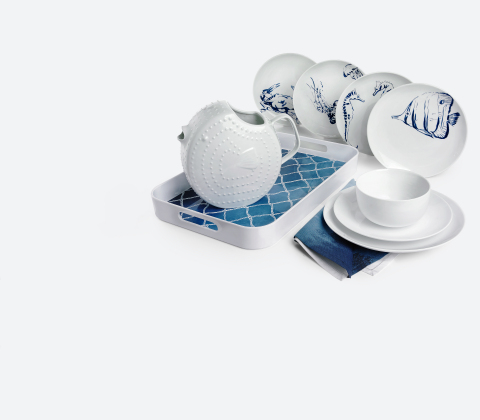 Macy's spring 2019 remarkable fashion, beauty and home assortment is inspired by coastal culture and individuality. Coastal Collection, The Cellar. (Photo: Business Wire)