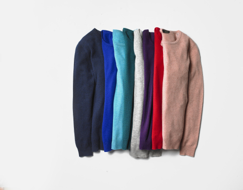 Discover gifts that you'll love to give in every price point at Macy's; Charter Club Cashmere Women's Sweater, $79.99 (Photo: Business Wire)