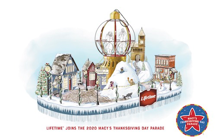 Lifetime Joins the 94th Annual Macy's Thanksgiving Day Parade® with Holiday-themed Inaugural Float